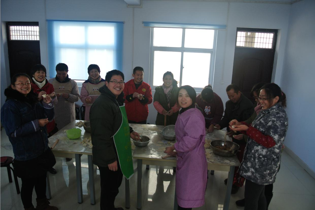 Puyang Kerui Make Dumplings Celebrate for Winter Solstice Festival